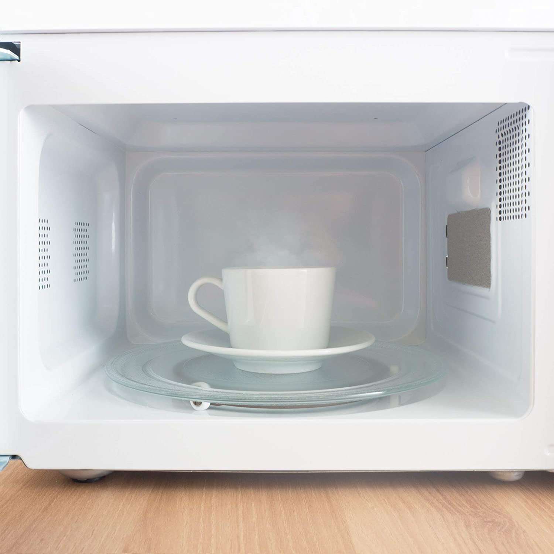 Grunkel - Microondas blanco de 20 litros de capacidad y 700W. 6 niveles de potencia, función descongelación y temporizador hasta 30 minutos. Fácil ...