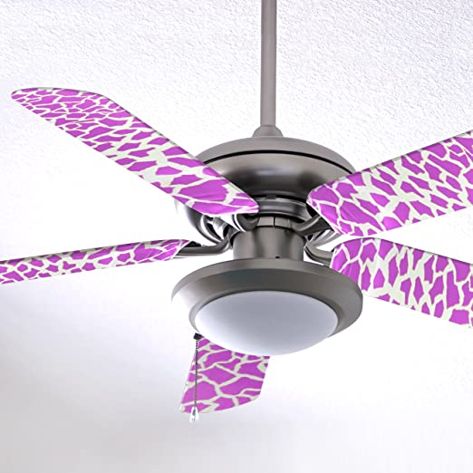 Craftmade BBL52-PNK Bloom Ceiling Fan Blades Replacement 52-Inch Set of 10 Pink//White and Pink