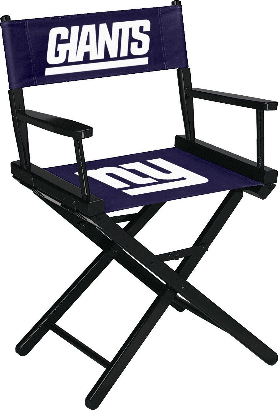 Imperial Officially Licensed NFL Merchandise: Directors Chair (Short, Table Height), New York Giants