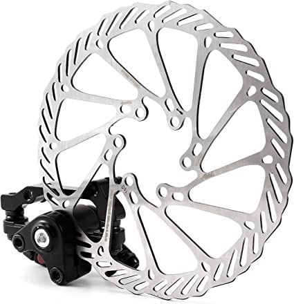 Mountain Bike Bicycle Mechanical Disc Brake Front /& Rear//Set 160mm Rotors Kit