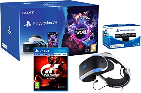 Playstation VR2 (CUH-ZVR2) GT Sport Pack Gran Turismo Sport + ...
