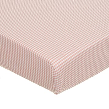 Glenna Jean Fitted Sheet Pink Print