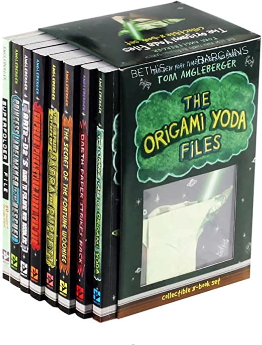 Amazon.com - The Origami Yoda Files: Collectible 8-book Boxed set -