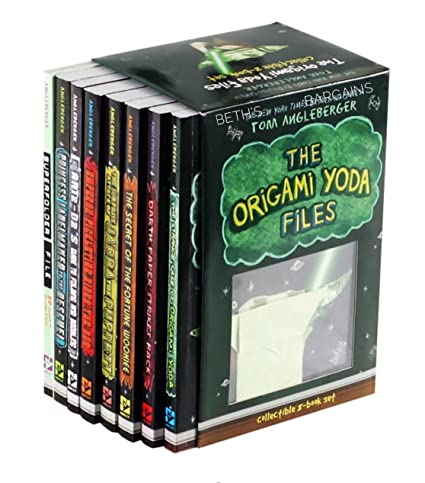 Amazon The Origami Yoda Files Collectible 8 Book Boxed Set