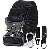 Jasonwell Cinturón Táctico de Estilo Militar Correa de Cintura de Nylon de Alta Resistencia Cinturón de Servicio Pesado…