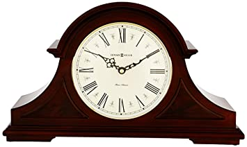 Howard Miller 635 - 107 Burton II - Reloj de Mesa, Madera, Windsor Cherry: Amazon.es: Hogar