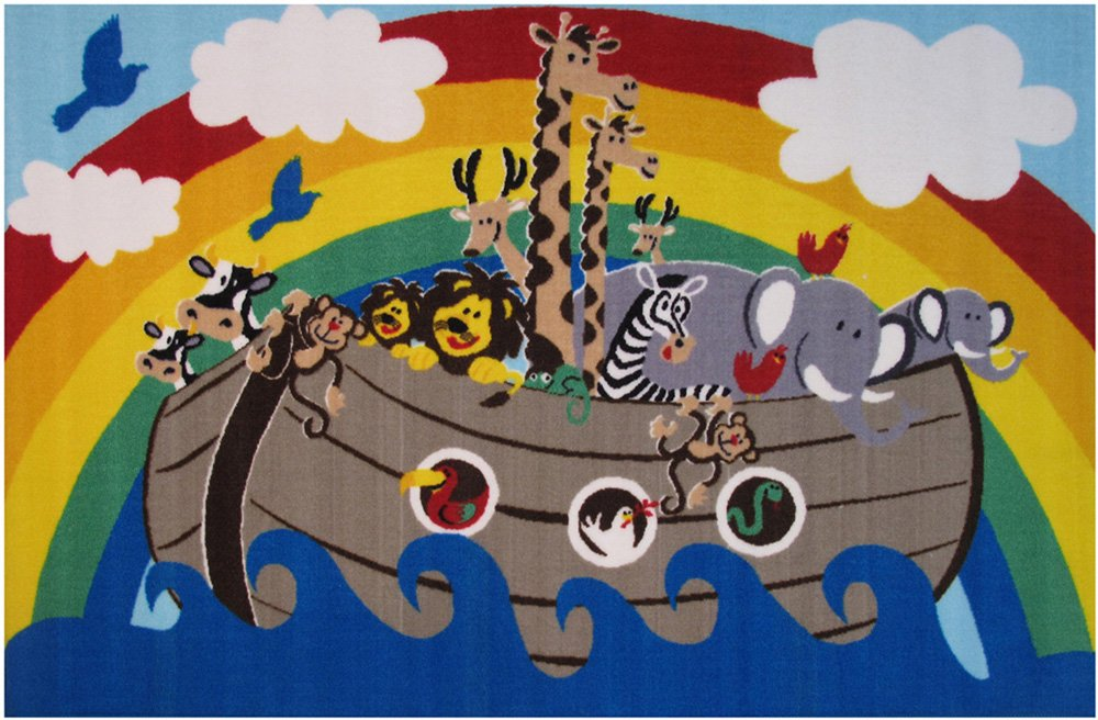 Fun Rugs Fun Time Animal Boat Novelty Rug, 39 x 58