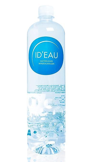 Agua Mineral ID eau regenerierendes Stilles Agua 1L 6 Pack (6 x 1l): Amazon.es: Jardín