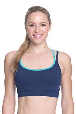 e06f5b3565 Amazon.com: Reebok Women's Medium Impact Butterfly Strap Sports Bra ...