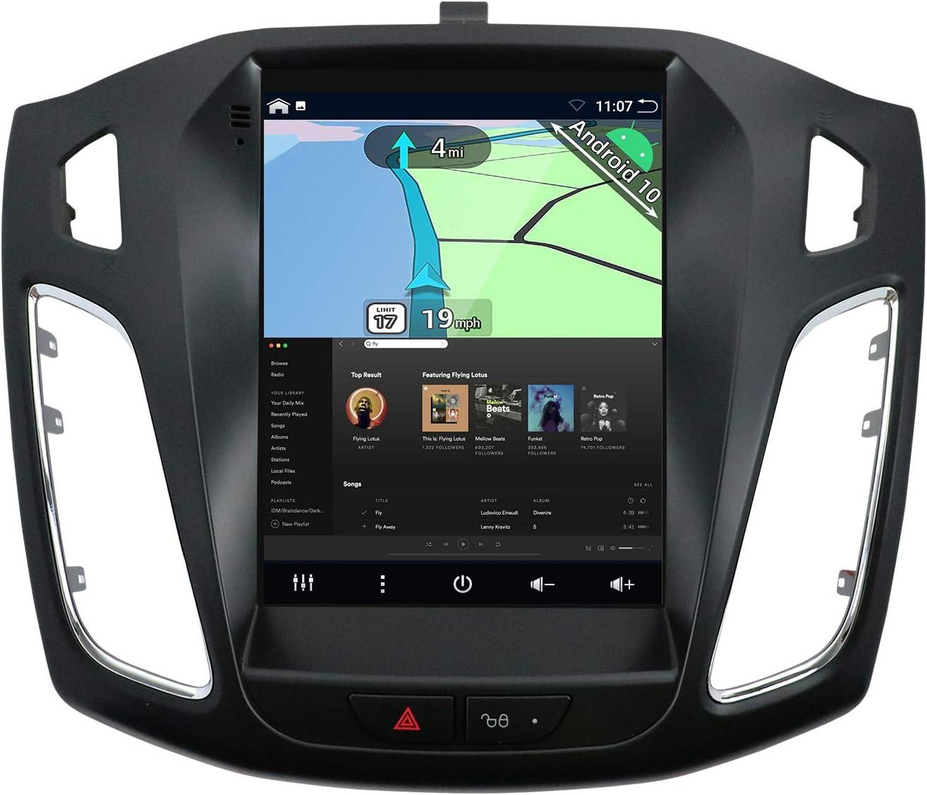 Yuntx Android 10 Autoradio Passt Für Ford Focus Elektronik