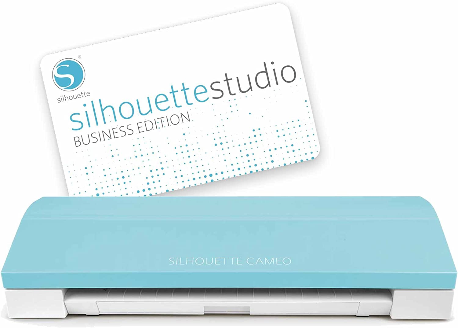Silhouette Cameo 3 Teal + Business Edition Software: Amazon.es ...