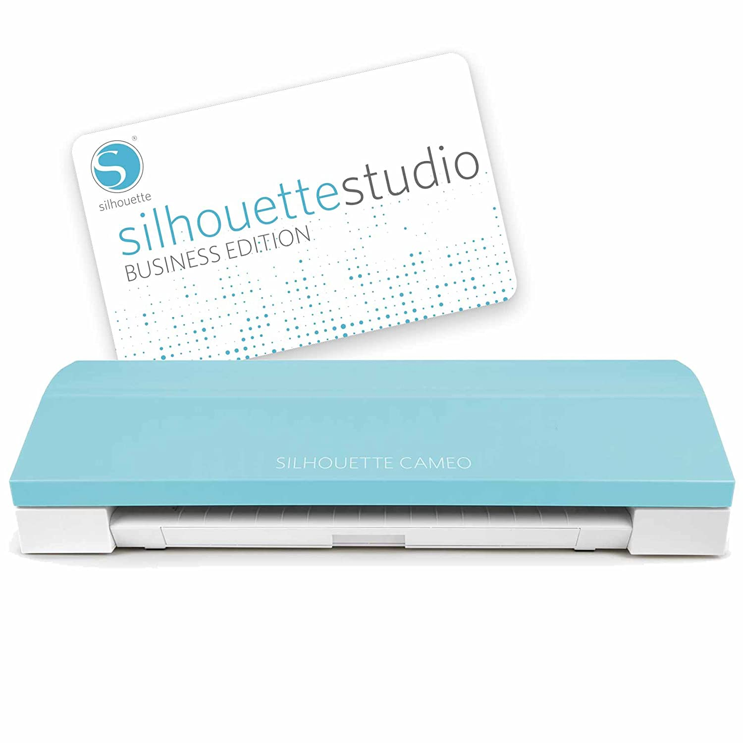 Silhouette Cameo 3 Teal + Business Edition Software: Amazon ...