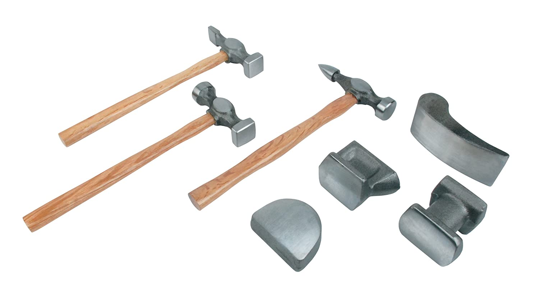 Mannesmann - M20700 - Juego para desabollar de 7 piezas, de acero forjado Brüder Mannesmann Werkzeuge