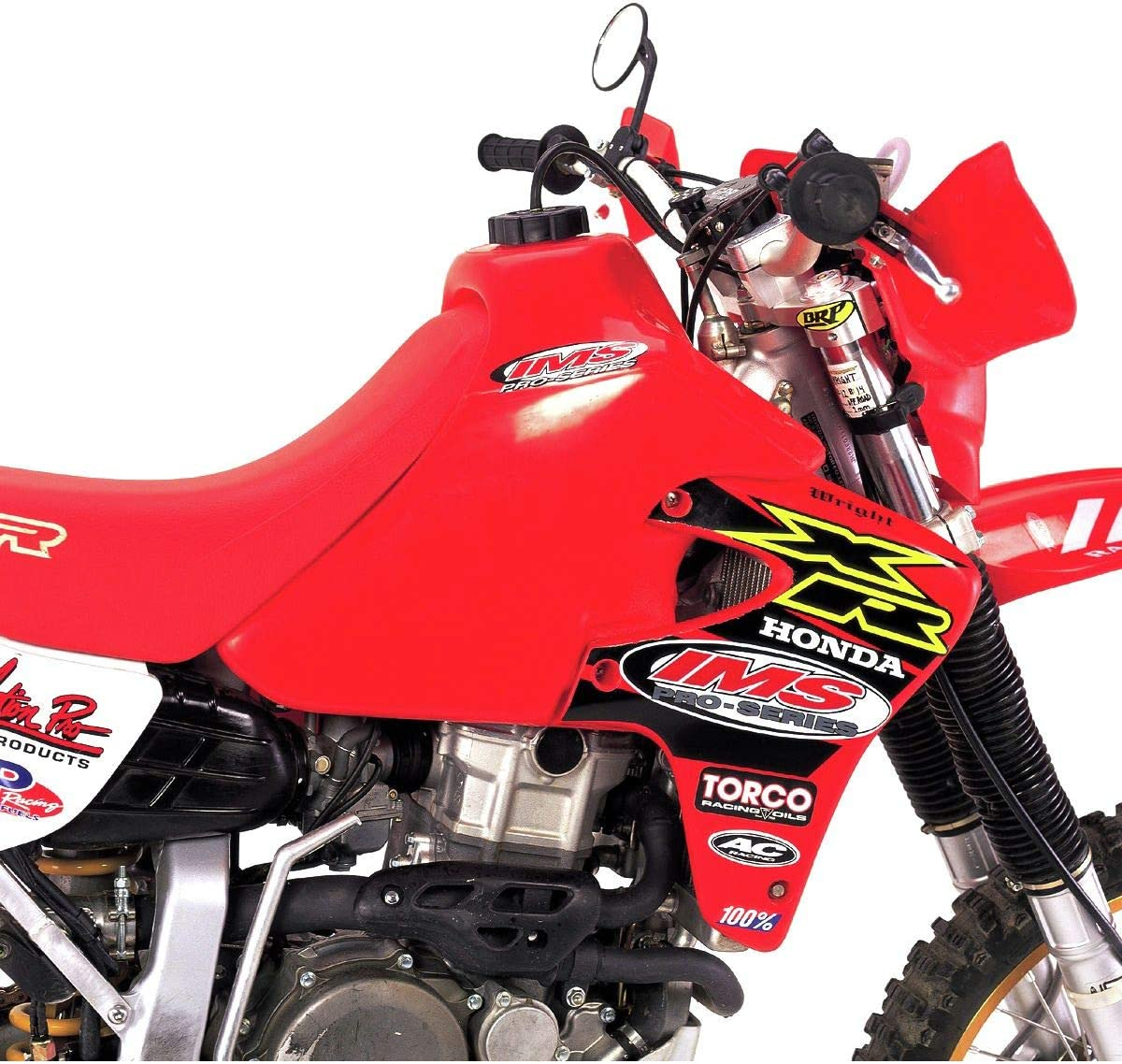 IMS 112228R2 Bright Red Large Fuel Tank 4.6 Gallon Capacity