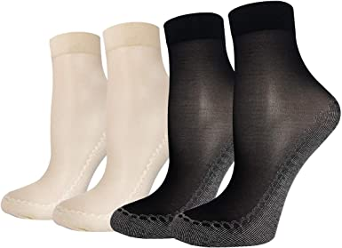 Socks Ultra-thin Dot Polka Ankle Women Short Elastic 10 Pairs Stockings