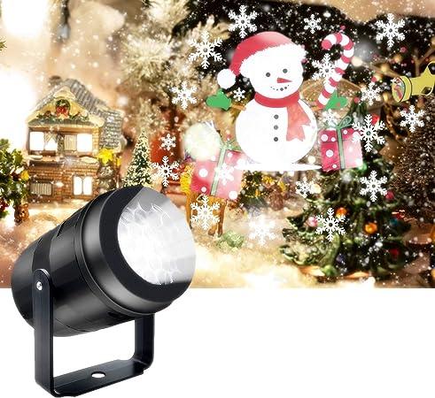 Amazon.com: veecom Luces de proyector de Navidad, proyector ...