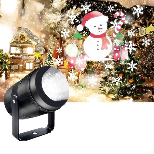 veecom Proyector de luces de Navidad, proyector de luz de día ...