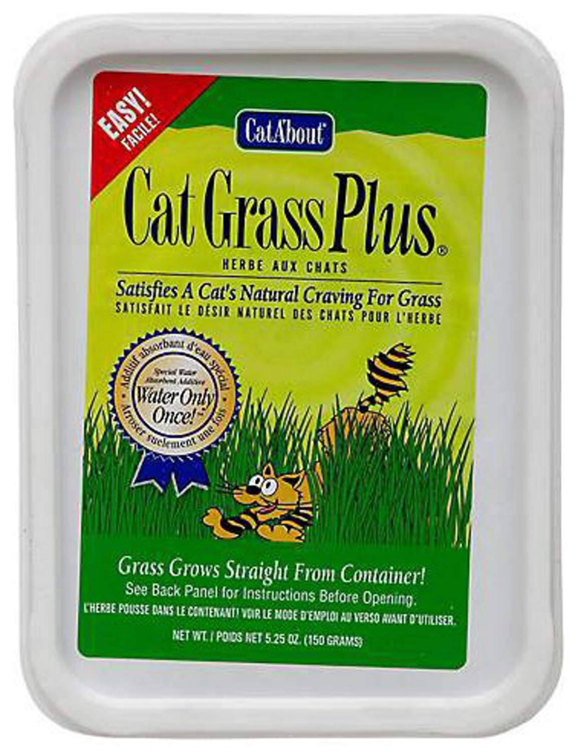Miracle Care Cat A'bout Cat Grass Plus 1800g (12 x 150g) by Miracle Care