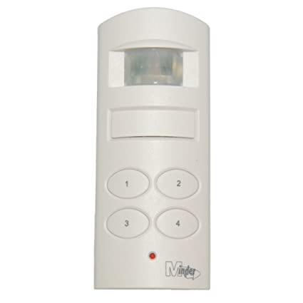 Minder - Mini sensor de movimiento PIR para el garaje de casa ~ alarma de cobertizo