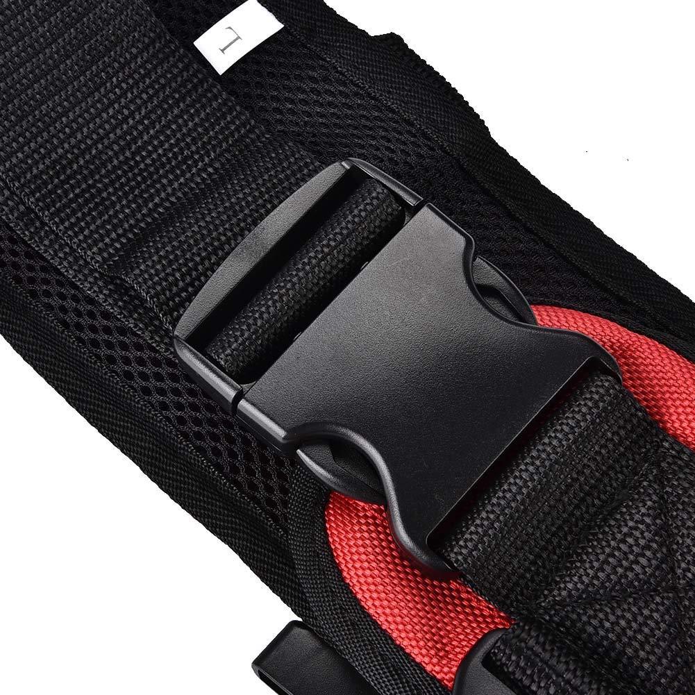 Training belt for rehabilitation, Transfer belt with belt loop, Auxiliary rehabilitation belt, Walking rehabilitation belt for leg rehabilitation(L) by TMISHION (Image #8)