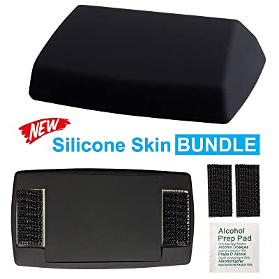 EZ SKIN Bundle: Silicone Skin for EZ Pass + Silicone Pad to Cover the Back + Black Interlocking Strips + Alcohol Prep Pad = Discreet Look INSIDE & OUTSIDE Your Car! (Fits EZ Pass Mini, Latest Version): Car Electronics [5Bkhe1407859]