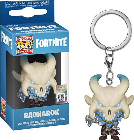 Amazon.com: Funko Pop! Keychain: Fortnite - Ragnarok Toy ...