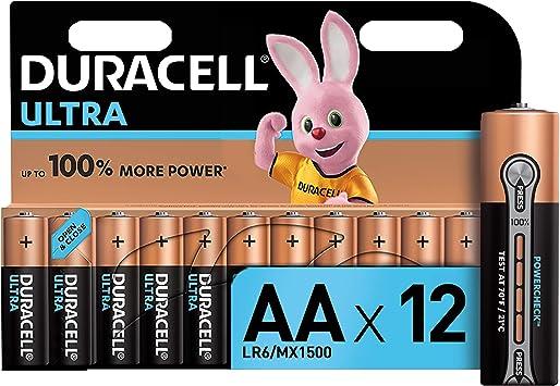 Duracell Ultra Aa Mignon Alkaline Batterien Lr6 12er Elektronik