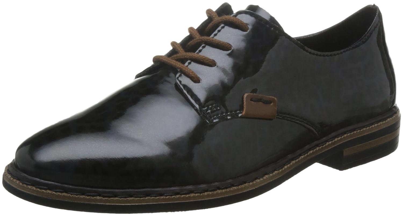 Mujeres Zapatos planos leo-navy/mogano negro, (leo-navy/mogano) 5061490 40 EU