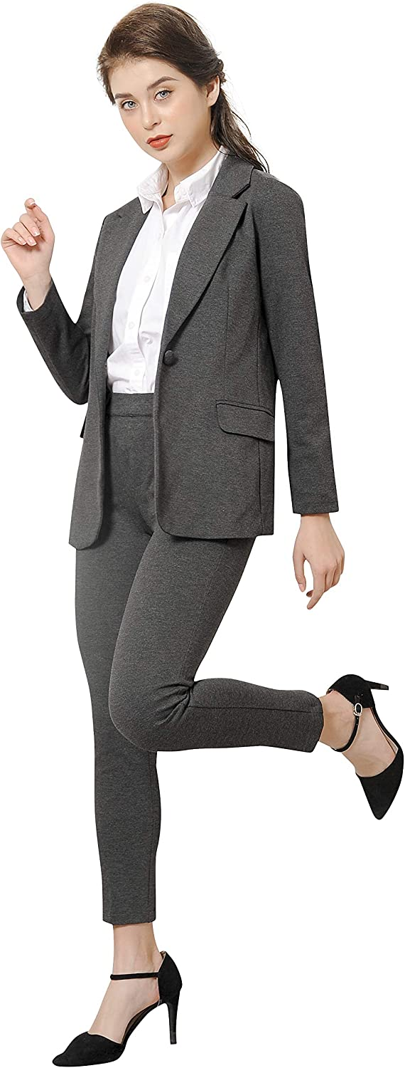 Marycrafts Womens Formal Office Business Work Skirt Suit Set