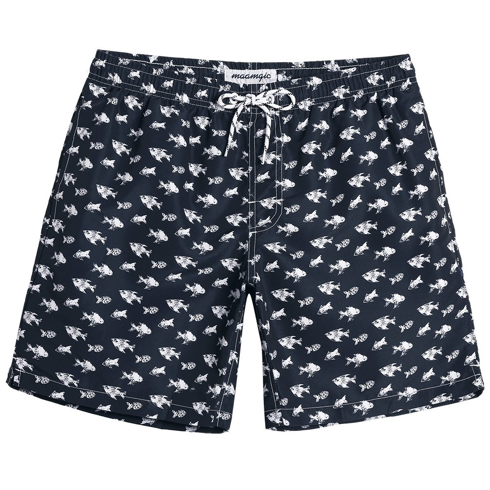 b76bd6423d slim fit design; one size up is recommanded if you prefer a looser fit. Mens  Print Swim Trunks: This Bathing Suits For Men Get Pretty Striped Pattern  Design ...