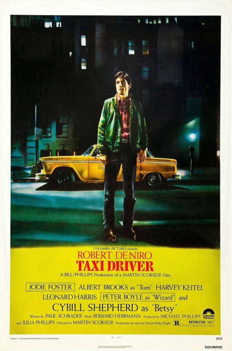 Taxi Driver Robert De Niro Classic Movie Large Poster Art Print Maxi A1 A2 A3 A4