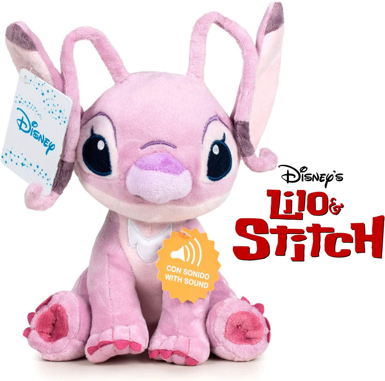 Play by Play Peluche Soft Angel con Sonido 20cm Amigo de Stitch Disney Lilo & Stitch - (760018231)