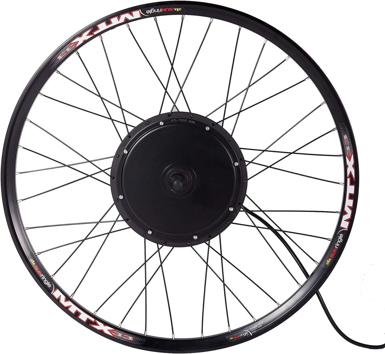 MTB E-bike Conversion Kit with Sun Ringle Double-wall Thick Welding Rim