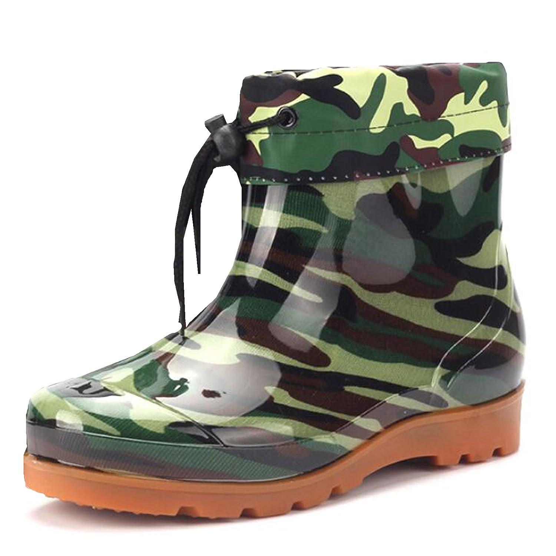 Hattie Unisex Women Men Rubber Wellington Boots Ankle Wellies With Detachable  Lining: Amazon.co.uk: Shoes & Bags