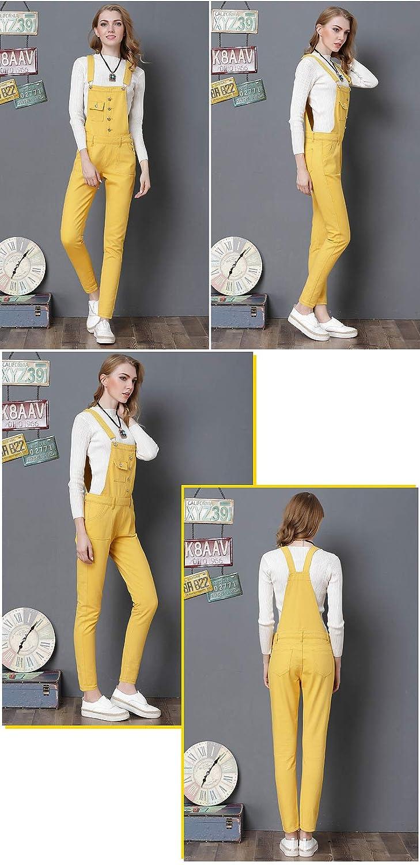 AvaCostume Womens Classic Adjustable Strap Jean Overalls