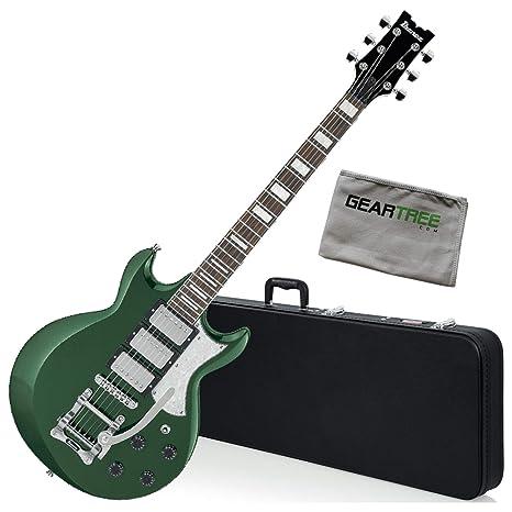 Ibanez AX230T MFTMetallic Forest AX Standard - Guitarra eléctrica con caja y gamuza