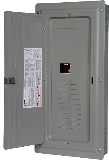 Siemens 20 Space 30 Circuit 150 Amp Main Breaker Indoor Load Center Thermal Magnetic Circuit Breakers Amazon Com