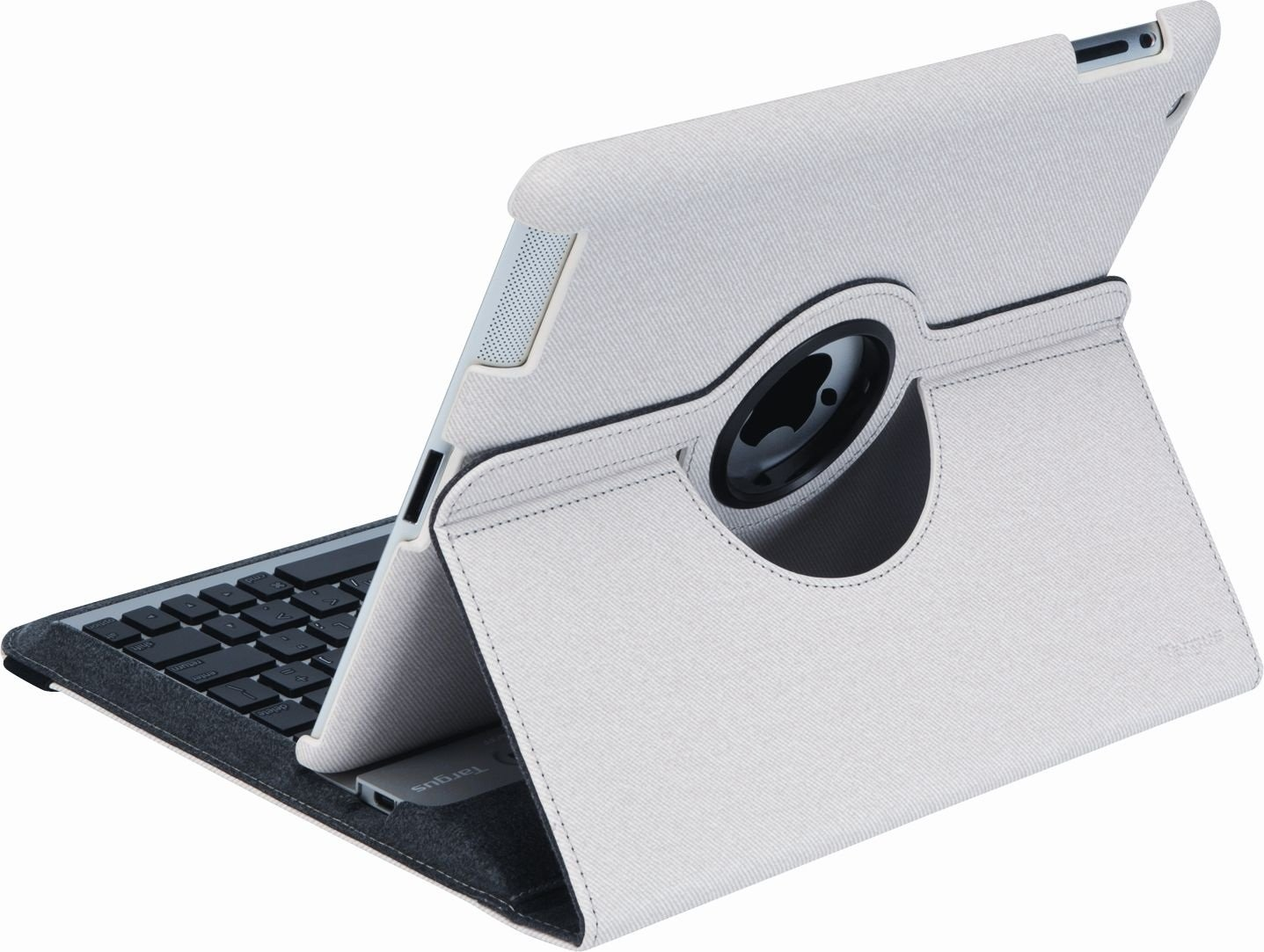 Targus Versavu Rotating Keyboard Case and Stand for iPad 3 and 4, Bone White (THZ171US) by Targus (Image #9)