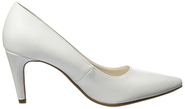 Tamaris Damen Damen Tamaris 22447 Pumps Weiß (Weiß Matt) e85b26