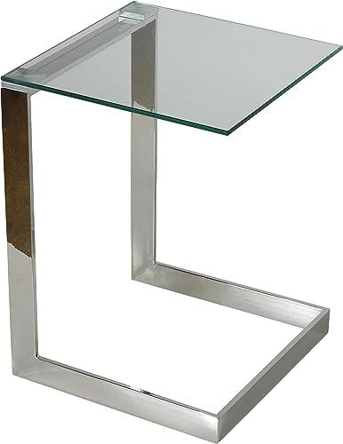 Cortesi Home Zulu C Shape End Table