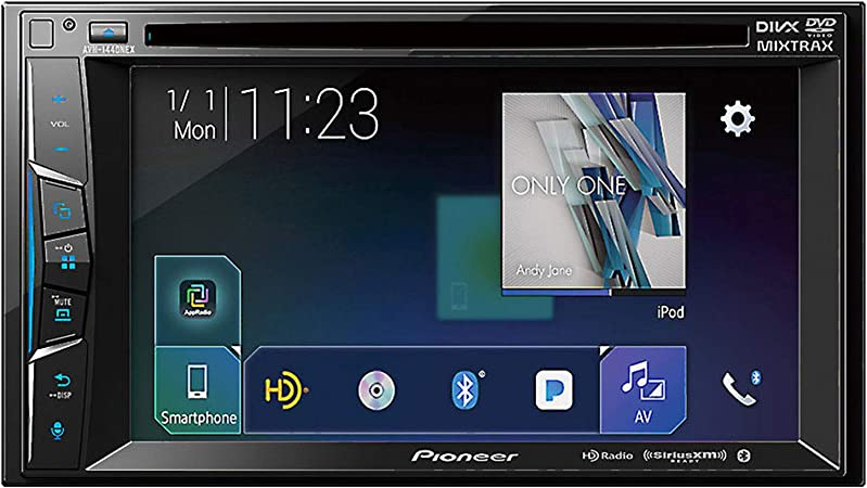 Pioneer AVH-1440NEX 6.2 Multimedia DVD Receiver Apple CarPlay, Bluetooth, HD Radio, SiriusXM