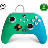 PowerA Enhanced Wired Controller for Xbox - Seafoam Fade, Gamepad, Wired Video Game Controller, Gaming Controller, Xbox Serie