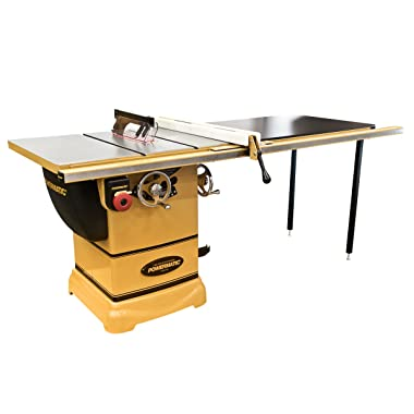 Powermatic PM1000 1791001K Table Saw 50-Inch Fence - 115V Power