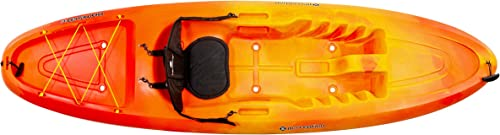 Perception Rambler 9.5 Sit on Top Kayak for All-Around Fun Storage with Tie Downs 9 6