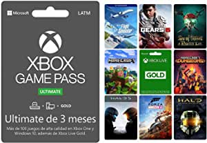 Xbox Game Pass Ultimate 3 meses - Standard Edition - Xbox One
