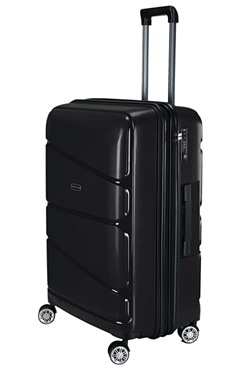 Nasher Miles Unisex Warrior Expander Hard-Sided PP Check-in Luggage Bag or  Trolley  390dc23be138c