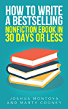 How To Write A Bestselling Nonfiction Ebook In 30 Days Or Less
