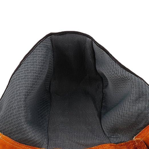 Casco de soldador con protección de cabeza y cuello, retrasa llama de fuego, casco de soldadura rescate resistente al calor para adultos: Amazon.es: ...