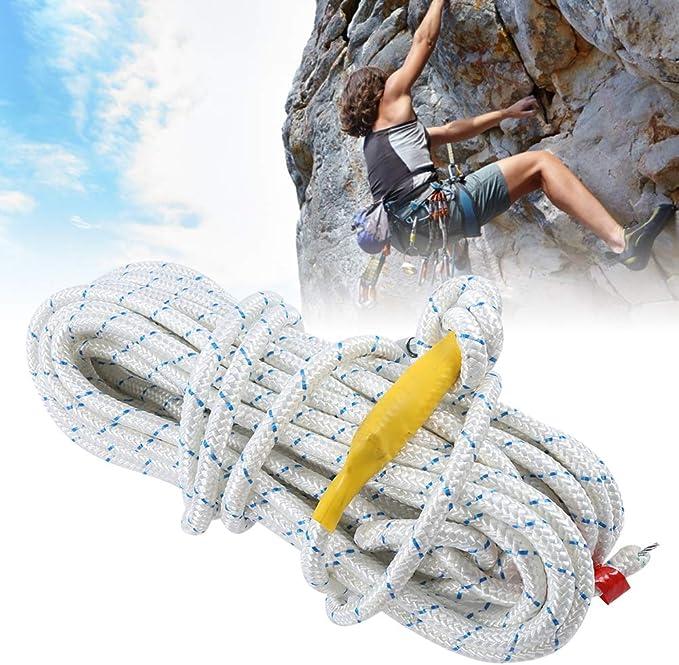 65.6ft 0.5in Cuerda de escalada al aire libre, 28.8KN Cuerda ...