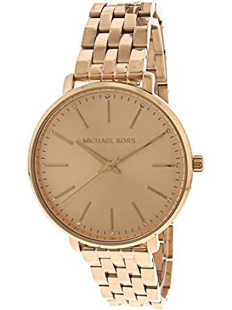 44ee9a1c0f50 Amazon.com  Michael Kors Women s Pyper - MK3897 Rose Gold One Size  Michael  Kors  Watches